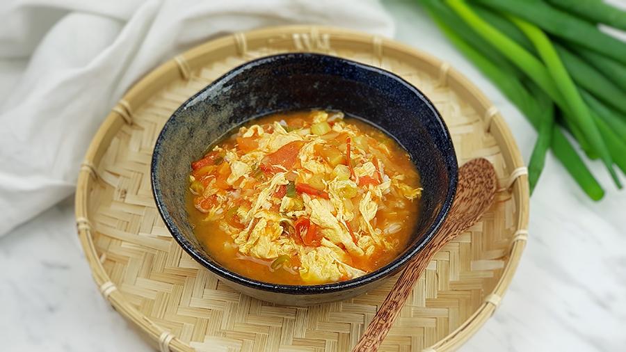 Vietnamese eiersoep